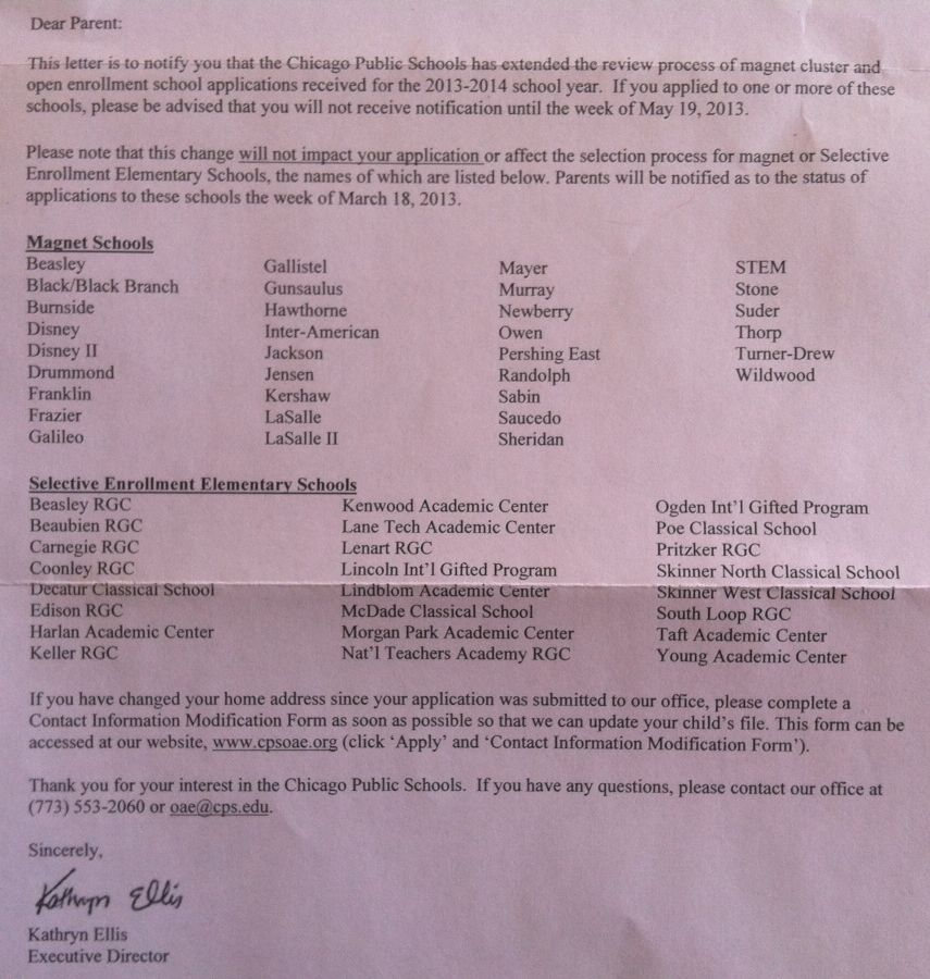 cps magnet cluster schools cps obsessed cps letter magnet 2013