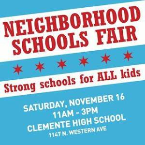 neighborhood school fair