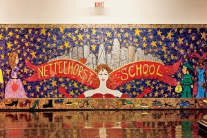 A shout out to Nettelshorst who got a lot of the neighborhool school stuff rolling